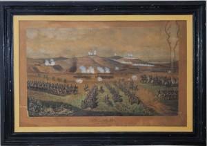 Lupta de la Rahova, tablou de Szatmari