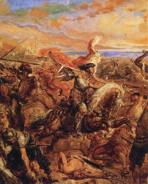 Vladislav Iagello în lupta de la Varna