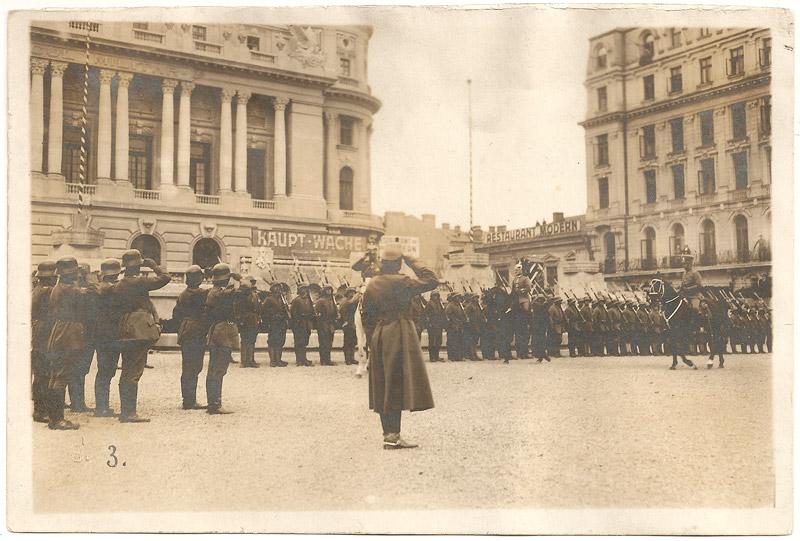 ocuparea bucurestiului 1916
