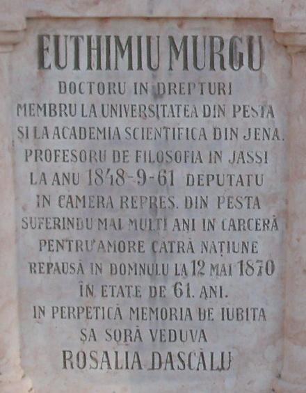Mormantul lui Eftimie Murgu