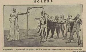 Holera- cel mai mare inamic al Romaniei in al doilea razboi balcanic