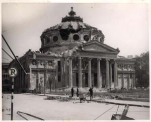 Ateneul Român bombardat în 1944