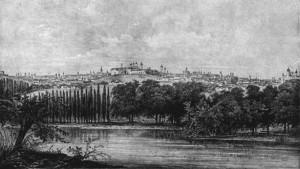 Panorama a Bucurestiului din secolul XIX