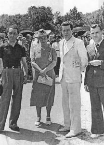 Ionel Teodoreanu, Ecaterina Cerchez, Dominte Timonu și Andrei Borcan