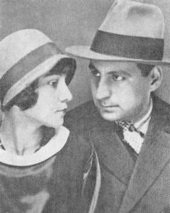 George Calinescu si sotia sa, Alice