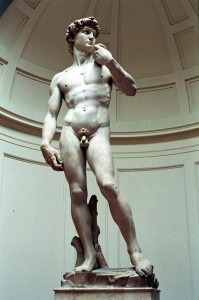Statuia David Michelangelo