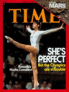 nadia comaneci revista time