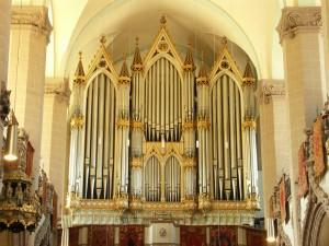 Orga Buchholz din Biserica Neagra