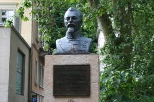 Bustul lui Cuza din Heidelberg