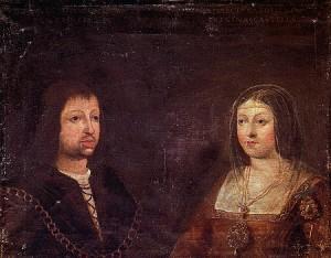 Ferdinand de Aragon si Isabella de Castilia