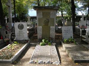 Mormantul lui George Cosbuc