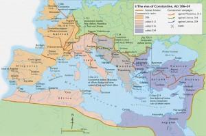 Imperiul Roman in timpul lui Constantin cel Mare