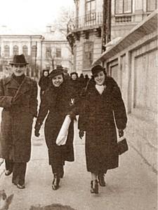 George Topirceanu, Veronica Gorgos, Otilia Cazimir