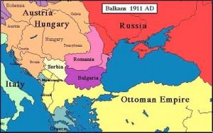 Sud-estul Europei înainte de primul război balcanic