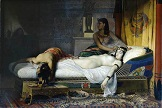sinucidere cleopatra