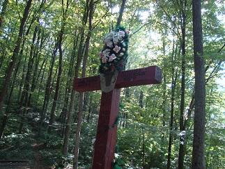 Crucea din Codrii Cosminului, azi în Ucraina