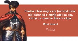 Citat Mihai Viteazul