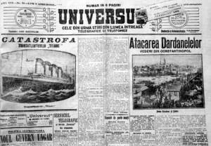 ziar interbelic