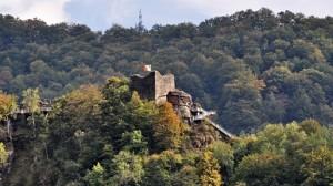Cetatea Poenari, locul unde s-a retras familia domnească